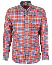 Dockers - The Twill Wrinkle Shirt Long Sleeved Shirt - Lyst