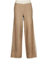 ONLY Onllila Cropped Trousers - Natural