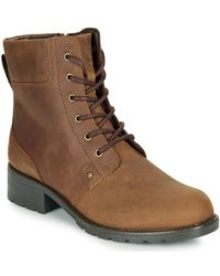 Clarks Orinoco Spice Low Ankle Boots - Brown