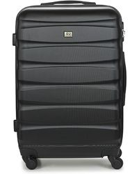 David Jones Chauvettini 72l Hard Suitcase - Black