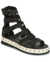 A.S.98 - Padova Women's Sandals In Black - Lyst