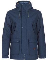 Billabong Alves 10k Jacket Parka - Blue