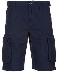 Aigle Accon Men's Shorts In Blue