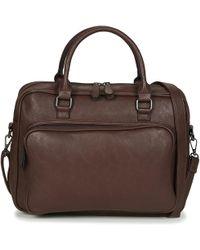Casual Attitude Adiana Briefcase - Brown