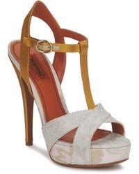 Missoni Tm30 Sandals - Metallic