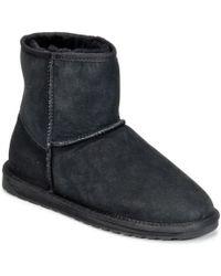 EMU - Stinger Mini Women's Mid Boots In Black - Lyst