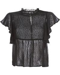 Moony Mood Kama Women's Blouse In Black
