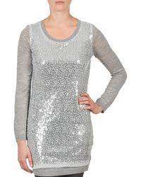 La City - Pull Sequins Tunic Dress - Lyst