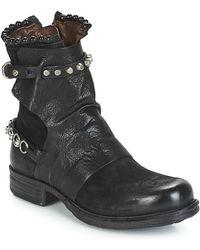 A.s.98 Saint 14 Mid Boots - Black