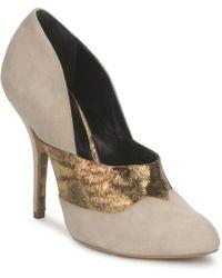 Gaspard Yurkievich O6 Var8 Court Shoes - Natural