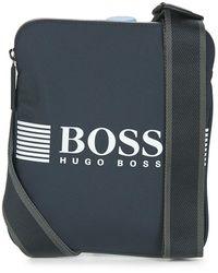 BOSS by HUGO BOSS Pixel_s Zip Pouch - Blue