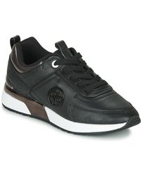Guess Fl5myn-fal12-black Shoes (trainers)