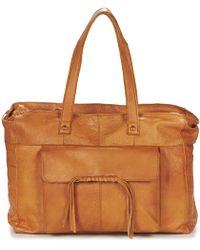 Pieces - Musta Leather Bag Shoulder Bag - Lyst