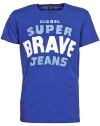 DIESEL - T-asterios T Shirt - Lyst