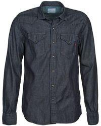 Replay M4860n Long Sleeved Shirt - Grey