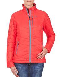Salomon Jacket Insulated Jacket W Papaya-b Jacket - Red