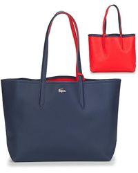 Lacoste Anna Shopper Bag - Blue