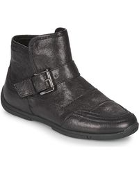 Geox Aglaia Mid Boots - Black