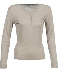 Casual Attitude Dorine Long Sleeve T-shirt - Grey