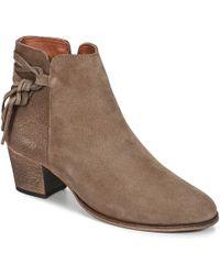 Betty London - Heidi Women's Low Ankle Boots In Brown - Lyst
