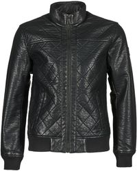 Esprit Camalero Leather Jacket - Black