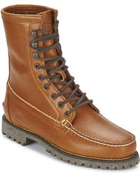Timberland - Authentics 8 In Rugged Handsewn Mid Boots - Lyst