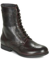 Birkenstock Laramie Mid Boots - Brown