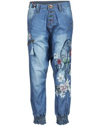 Desigual - Aniatine Trousers - Lyst