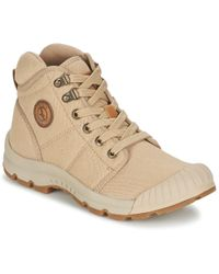 Aigle Tenere Light Shoes (high-top Trainers) - Natural