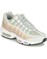 competitive price 0ca4d 17ba3 Nike - Air Max 95 W Women s Shoes (trainers) In White - Lyst