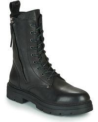 Replay Pamela Standing Mid Boots - Black