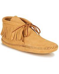 Minnetonka Classicfringeboot Mid Boots - Brown