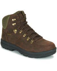 Aigle Tl Retro Walking Boots - Brown