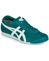 sports shoes f0ca7 fecf6 Onitsuka Tiger D832l..9058 Women's Shoes (trainers) In Blue ...
