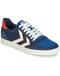 Hummel Slimmer Stadil Low Shoes (trainers) - Blue