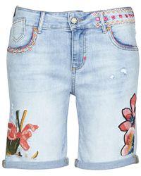 Desigual Bonhai Shorts - Blue
