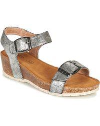 Les Petites Bombes Narciss Sandals - Metallic