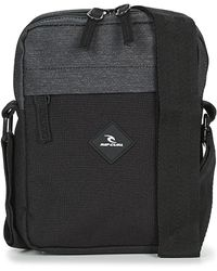 Rip Curl No Idea Pouch Midnight Messenger Bag - Black
