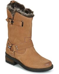 Superdry Tempter Boot Mid Boots - Brown