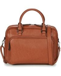 Casual Attitude Adiana Briefcase - Brown