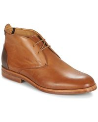 Hudson Jeans Matteo Mid Boots - Brown