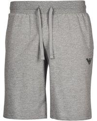 Emporio Armani Iconic Terry Shorts - Grey