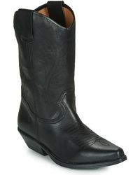 Betty London Lova High Boots - Black