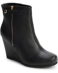 Chinese Laundry Very Best Women's Low Ankle Boots In Black