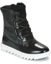 Sorel Joan Of Arctic Next Lite Mid Boots - Black