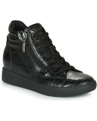 Esprit Granada Croc Bootie Shoes (high-top Trainers) - Black
