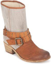 IKKS Ines Women's High Boots In Brown
