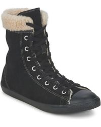d42dfa8675c Converse - All Star Dainty Suede Shoes (high-top Trainers) - Lyst