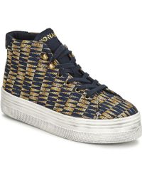 No Name - Plato Hi Cut Shoes (high-top Trainers) - Lyst