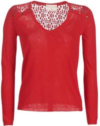Moony Mood Koeps Women's Jumper In Red
